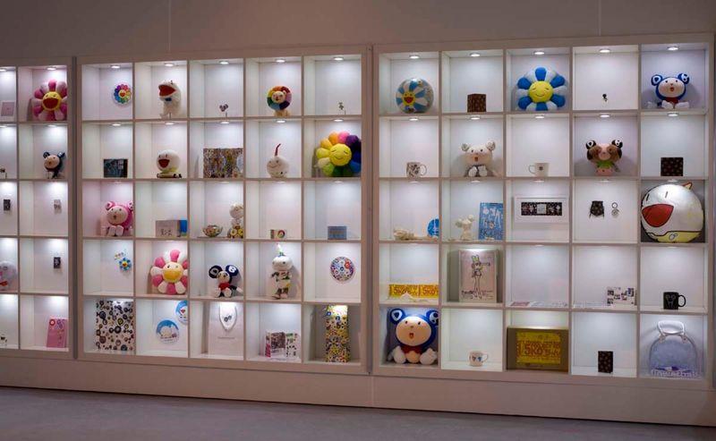 """Takashi_Murakami_View of the exhibition """"©MURAKAMI"""" at MOCA Los Angeles (USA), 2007_1061_1"""