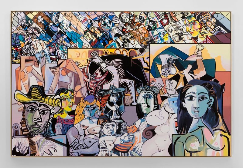 """Erro_View of the group exhibition """"Picasso.Mania"""" at Grand Palais  Paris (France), 2015_10672_1"""