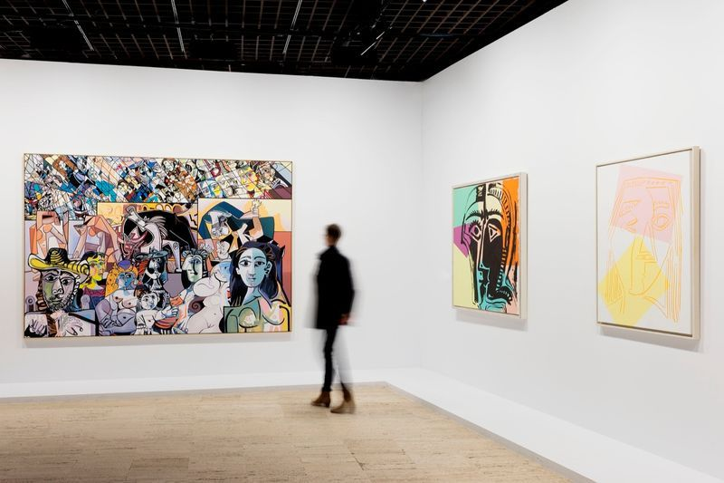 """Erro_View of the group exhibition """"Picasso.Mania"""" at Grand Palais  Paris (France), 2015_10673_1"""