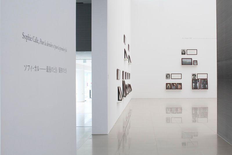 """Sophie_Calle_View of the exhibition """"Pour la dernière et pour la première fois"""" at Nagasaki Prefectural Art Museum  Nagasaki (Japan), 2016_10734_1"""