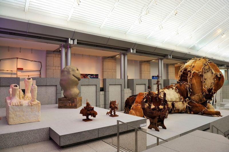"yuji_ueda_View of the group exhibition ""Takashi Murakami's Superflat collection, from Soga Shohaku and Kitaoji Rosanjin to Anselm Kiefer"" at Yokohama Museum of Art Yokohama (Japan), 2016_10750_1"