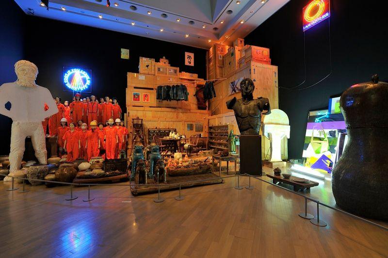 "yuji_ueda_View of the group exhibition ""Takashi Murakami's Superflat collection, from Soga Shohaku and Kitaoji Rosanjin to Anselm Kiefer"" at Yokohama Museum of Art Yokohama (Japan), 2016_10752_1"