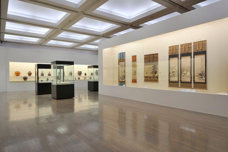 "yuji_ueda_View of the group exhibition ""Takashi Murakami's Superflat collection, from Soga Shohaku and Kitaoji Rosanjin to Anselm Kiefer"" at Yokohama Museum of Art Yokohama (Japan), 2016_10754_1"