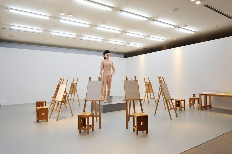 "yuji_ueda_View of the group exhibition ""Takashi Murakami's Superflat collection, from Soga Shohaku and Kitaoji Rosanjin to Anselm Kiefer"" at Yokohama Museum of Art Yokohama (Japan), 2016_10757_1"