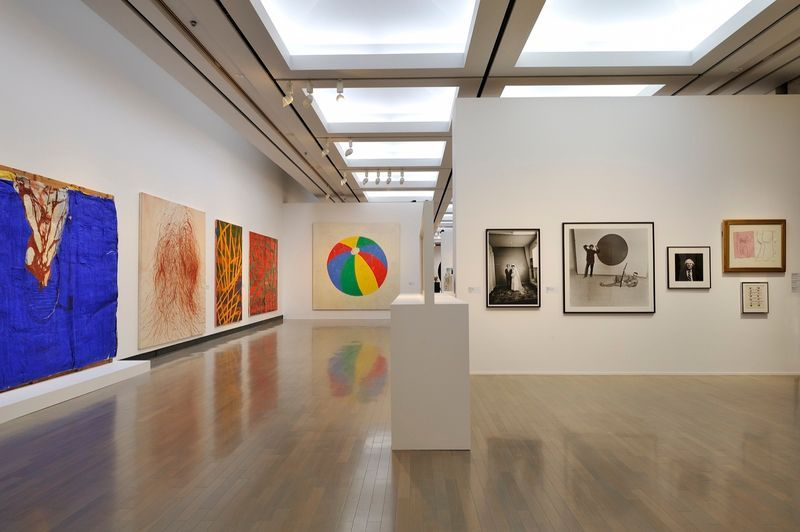 "yuji_ueda_View of the group exhibition ""Takashi Murakami's Superflat collection, from Soga Shohaku and Kitaoji Rosanjin to Anselm Kiefer"" at Yokohama Museum of Art Yokohama (Japan), 2016_10759_1"