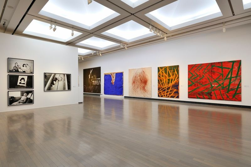 "yuji_ueda_View of the group exhibition ""Takashi Murakami's Superflat collection, from Soga Shohaku and Kitaoji Rosanjin to Anselm Kiefer"" at Yokohama Museum of Art Yokohama (Japan), 2016_10761_1"