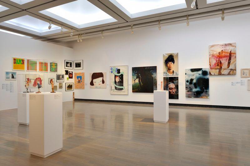 "yuji_ueda_View of the group exhibition ""Takashi Murakami's Superflat collection, from Soga Shohaku and Kitaoji Rosanjin to Anselm Kiefer"" at Yokohama Museum of Art Yokohama (Japan), 2016_10764_1"
