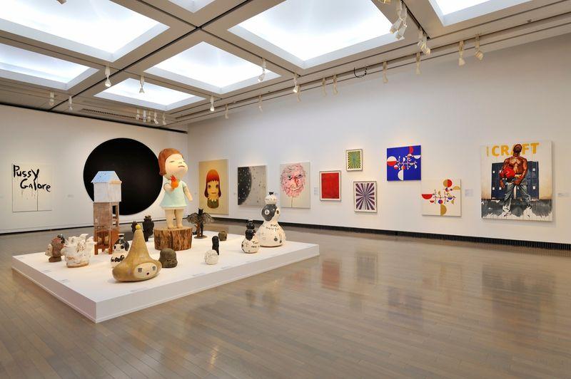 "yuji_ueda_View of the group exhibition ""Takashi Murakami's Superflat collection, from Soga Shohaku and Kitaoji Rosanjin to Anselm Kiefer"" at Yokohama Museum of Art Yokohama (Japan), 2016_10765_1"