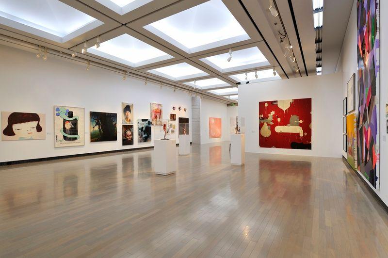 "yuji_ueda_View of the group exhibition ""Takashi Murakami's Superflat collection, from Soga Shohaku and Kitaoji Rosanjin to Anselm Kiefer"" at Yokohama Museum of Art Yokohama (Japan), 2016_10766_1"
