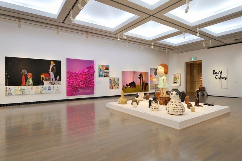 "yuji_ueda_View of the group exhibition ""Takashi Murakami's Superflat collection, from Soga Shohaku and Kitaoji Rosanjin to Anselm Kiefer"" at Yokohama Museum of Art Yokohama (Japan), 2016_10767_1"