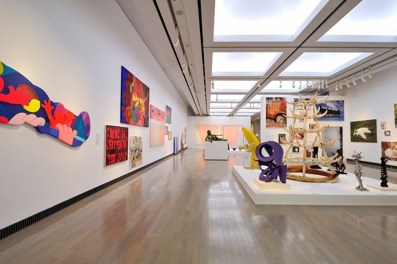 "yuji_ueda_View of the group exhibition ""Takashi Murakami's Superflat collection, from Soga Shohaku and Kitaoji Rosanjin to Anselm Kiefer"" at Yokohama Museum of Art Yokohama (Japan), 2016_10768_1"