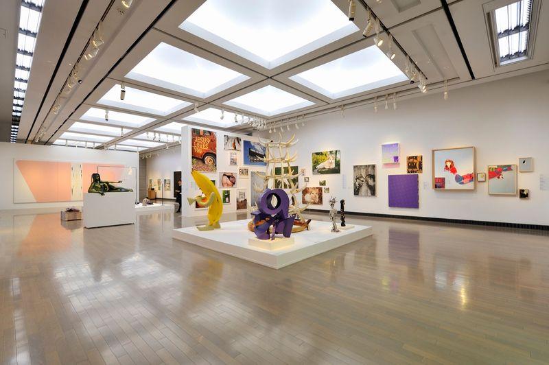 "yuji_ueda_View of the group exhibition ""Takashi Murakami's Superflat collection, from Soga Shohaku and Kitaoji Rosanjin to Anselm Kiefer"" at Yokohama Museum of Art Yokohama (Japan), 2016_10769_1"