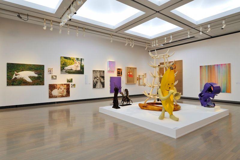 "yuji_ueda_View of the group exhibition ""Takashi Murakami's Superflat collection, from Soga Shohaku and Kitaoji Rosanjin to Anselm Kiefer"" at Yokohama Museum of Art Yokohama (Japan), 2016_10771_1"