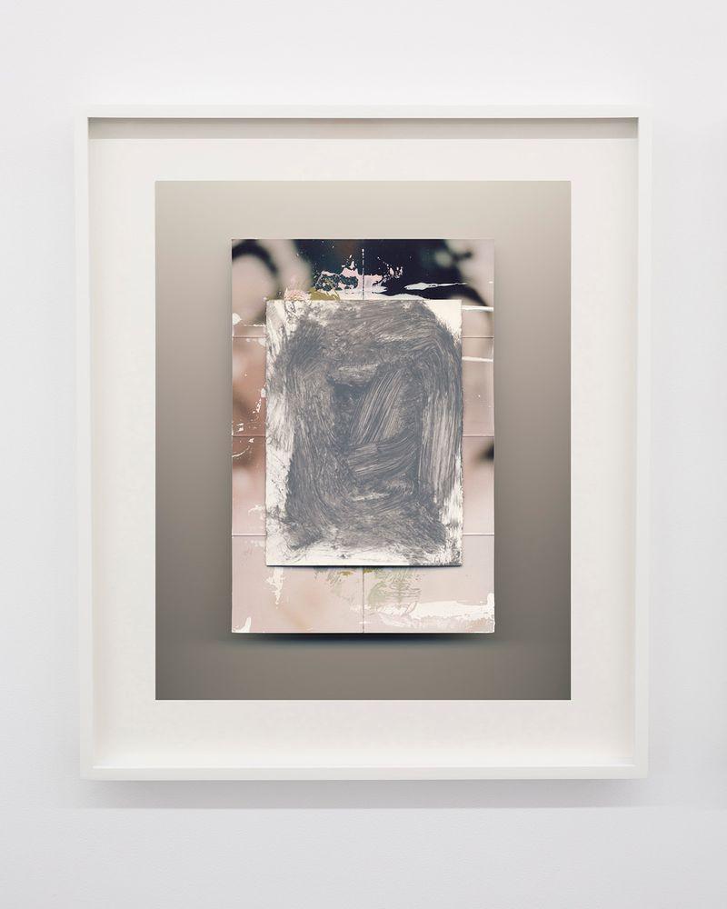 """Flowers"" 2016 Colour photograph, frame64.1 x 54 cm / 25 1/4 x 21 1/4 in"