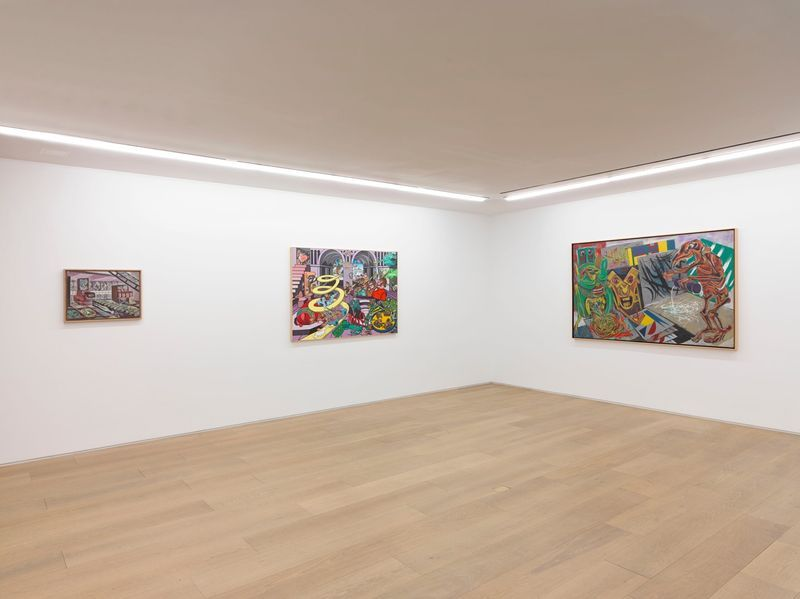 """Erro_View of the exhibition """"Erró - Paintings from 1959 to 2016"""" at 909 Madison Avenue  New York (USA), 2016_10860_1"""