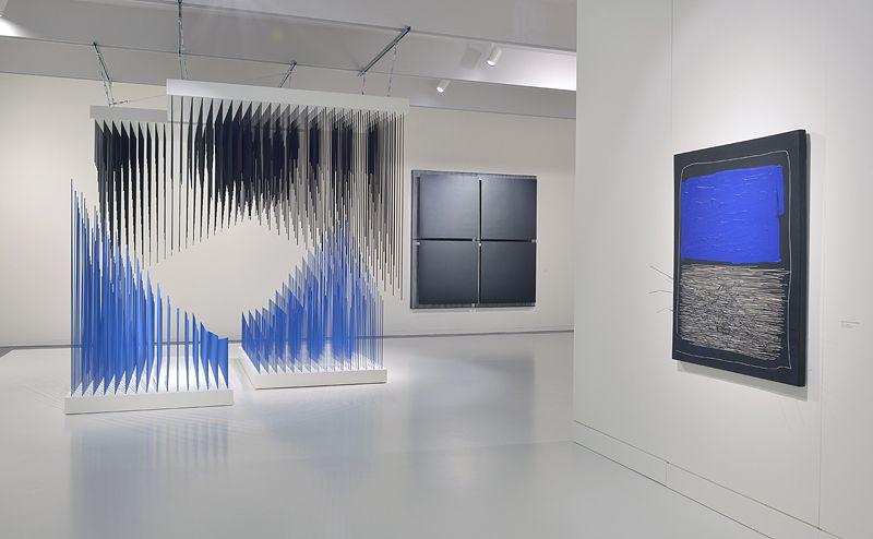 """Jesus_Rafael_Soto_View of the exhibition """"Jesús Rafael Soto. Une rétrospective"""" curated by Matthieu Poirier  at Musée Soulages Rodez (France), 2015_10884_1"""