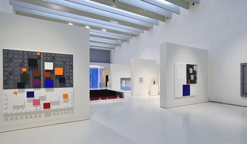 """Jesus_Rafael_Soto_View of the exhibition """"Jesús Rafael Soto. Une rétrospective"""" curated by Matthieu Poirier  at Musée Soulages Rodez (France), 2015_10887_1"""