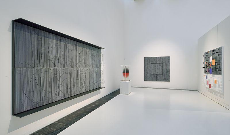 """Jesus_Rafael_Soto_View of the exhibition """"Jesús Rafael Soto. Une rétrospective"""" curated by Matthieu Poirier  at Musée Soulages Rodez (France), 2015_10890_1"""