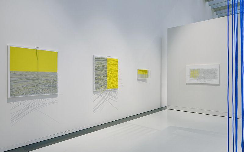 """Jesus_Rafael_Soto_View of the exhibition """"Jesús Rafael Soto. Une rétrospective"""" curated by Matthieu Poirier  at Musée Soulages Rodez (France), 2015_10891_1"""