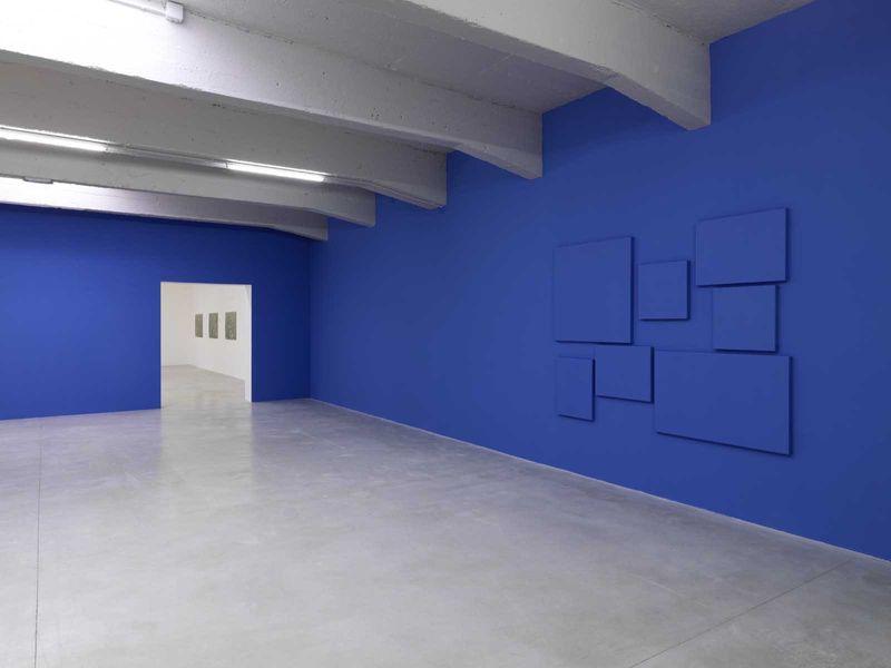 "Claude_Rutault_View of the group exhibition ""L'almanach 16"" at Le Consortium Dijon (France), 2016_10945_1"