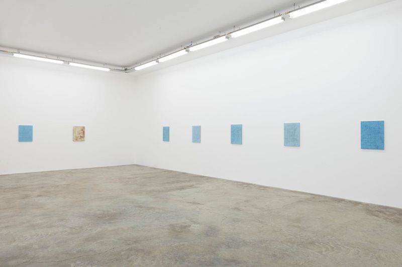 John_Henderson_View of the exhibition  at Perrotin (France), 2016_10947_1