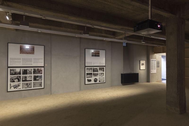 "View of the exhibition ""L'Image volée"" at the Fondazione Prada"