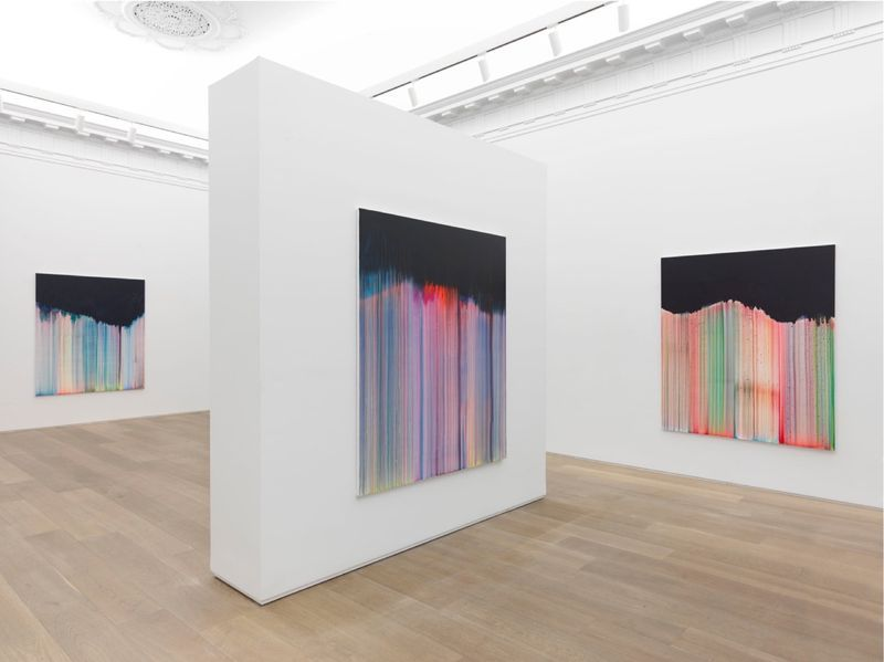 """Bernard_Frize_View of the exhibition """"Dawn comes up so young"""" at New York Gallery New York (USA), 2016_11277_1"""