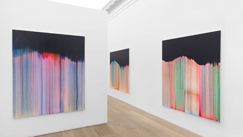 """Bernard_Frize_View of the exhibition """"Dawn comes up so young"""" at New York Gallery New York (USA), 2016_11281_1"""