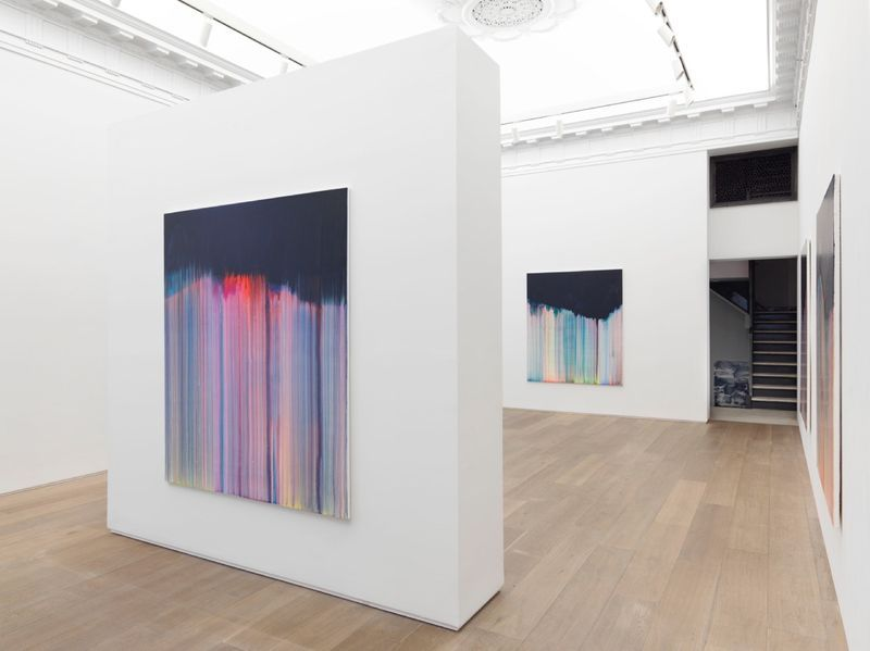 """Bernard_Frize_View of the exhibition """"Dawn comes up so young"""" at New York Gallery New York (USA), 2016_11282_1"""