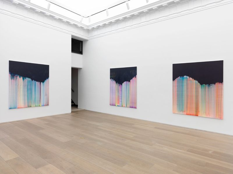 """Bernard_Frize_View of the exhibition """"Dawn comes up so young"""" at New York Gallery New York (USA), 2016_11283_1"""