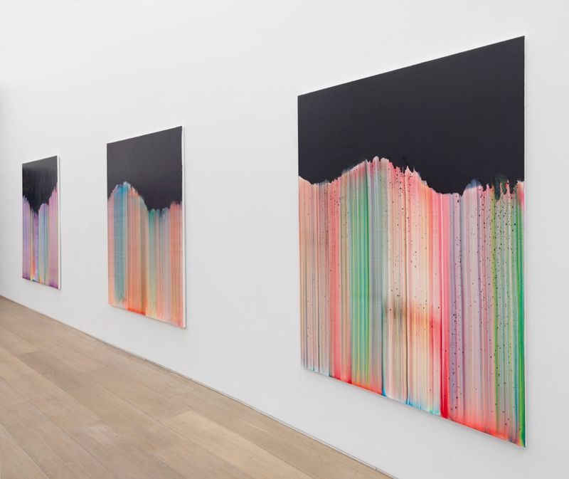 """Bernard_Frize_View of the exhibition """"Dawn comes up so young"""" at New York Gallery New York (USA), 2016_11284_1"""