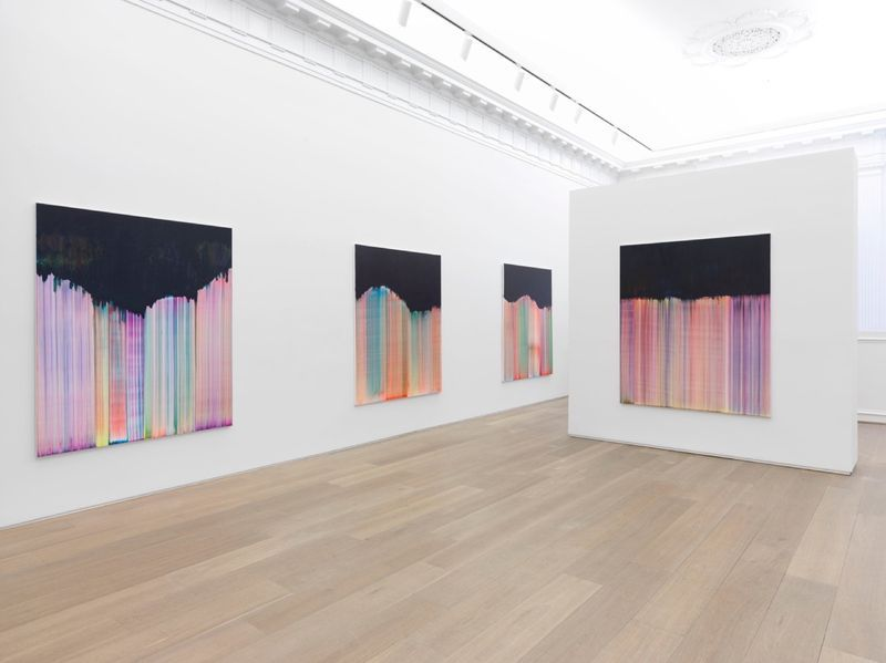 """Bernard_Frize_View of the exhibition """"Dawn comes up so young"""" at New York Gallery New York (USA), 2016_11285_1"""