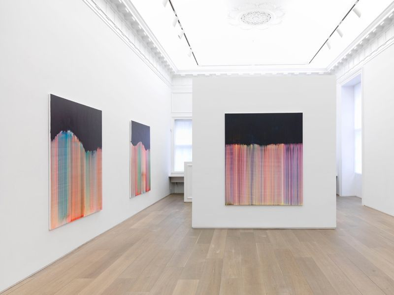 """Bernard_Frize_View of the exhibition """"Dawn comes up so young"""" at New York Gallery New York (USA), 2016_11286_1"""