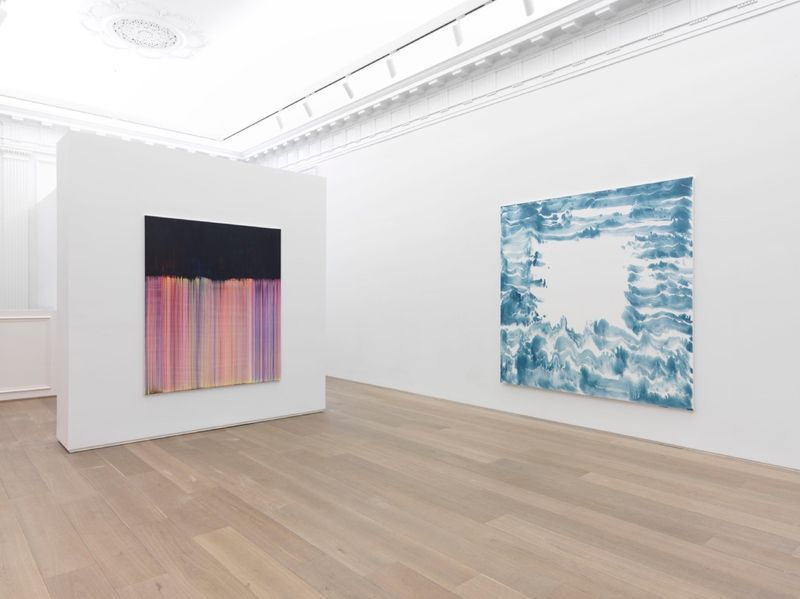 "Bernard_Frize_View of the exhibition ""Dawn comes up so young"" at New York Gallery  New York (USA), 2016_11287_1"