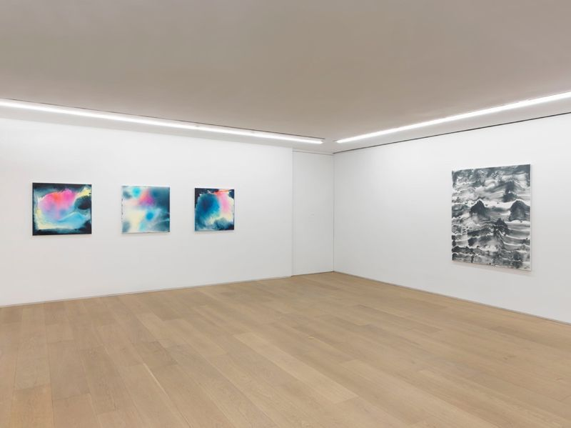 """Bernard_Frize_View of the exhibition """"Dawn comes up so young"""" at New York Gallery New York (USA), 2016_11290_1"""
