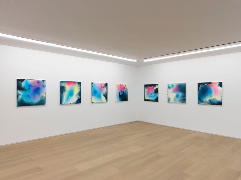 """Bernard_Frize_View of the exhibition """"Dawn comes up so young"""" at New York Gallery New York (USA), 2016_11291_1"""