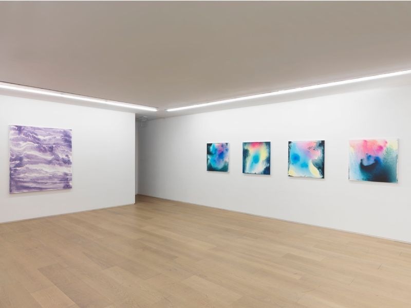 """Bernard_Frize_View of the exhibition """"Dawn comes up so young"""" at New York Gallery New York (USA), 2016_11292_1"""