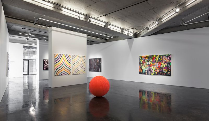 Bernard_Frize_View of the group exhibition  at Galerie Dirimar Istanbul (Turkey), 2016_11865_1