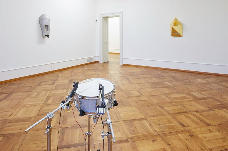 "Michael_Sailstorfer_View of the exhibition ""Michael SAILSTORFER"" curated by Damian Jurt   at Centre PasquArt  Bienne (Switzerland), 2015_12076_1"