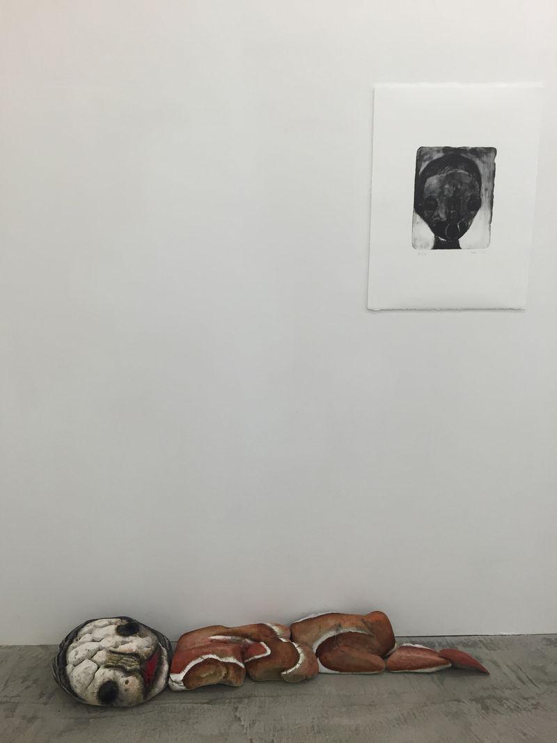 "Izumi_Kato_View of the group exhibition ""ART VACANCES"" at GALLERY HIRAMINE Koshikijima Islands, Kagoshima (Japan), 2016_12118_1"