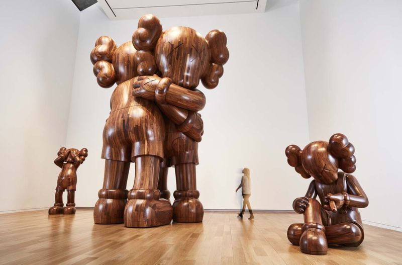 "Kaws_View of the exhibition ""WHERE THE END STARTS"" curated by Andrea Karnes  at Modern Art Museum of Fort Worth  Fort Worth (USA), 2016_12164_1"