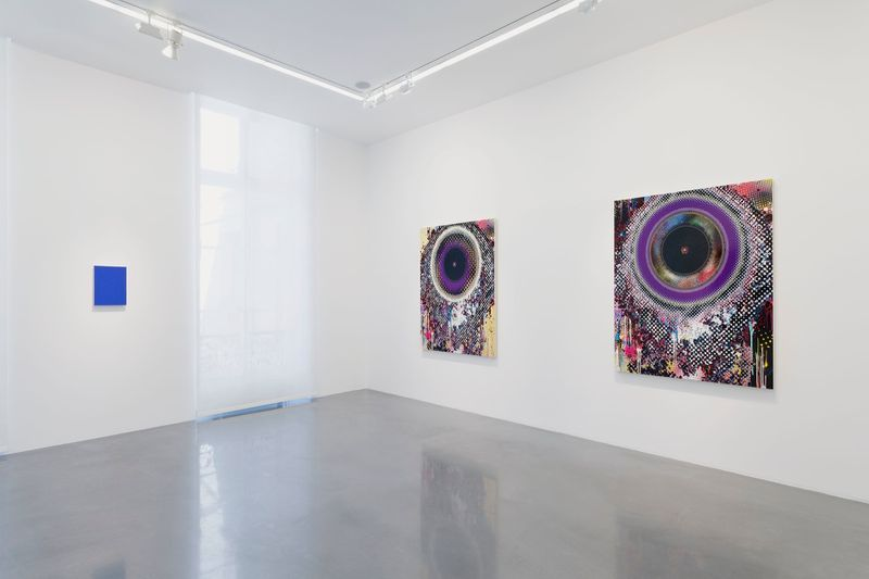 "Takashi_Murakami_View of the exhibition ""Learning the Magic of Painting"" at Perrotin (Turenne & St Claude) Paris (France), 2016_12205_1"