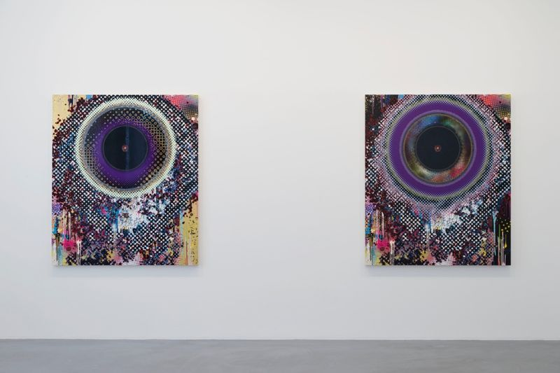 "Takashi_Murakami_View of the exhibition ""Learning the Magic of Painting"" at Perrotin (Turenne & St Claude) Paris (France), 2016_12206_1"