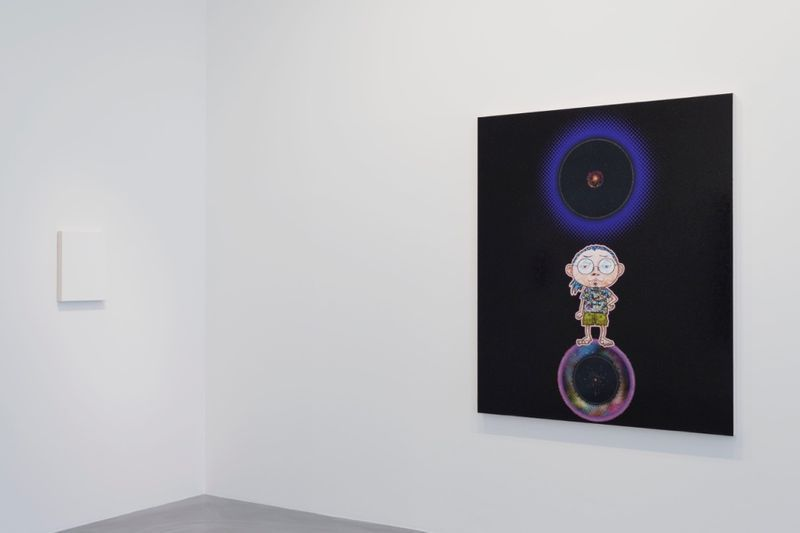 "Takashi_Murakami_View of the exhibition ""Learning the Magic of Painting"" at Perrotin (Turenne & St Claude) Paris (France), 2016_12207_1"
