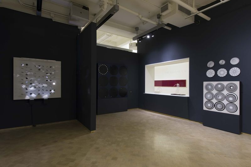 "Julio_Le_Parc_View of the exhibition ""The Illusive Eye"" curated by Jorge Daniel Veneciano  at El Museo del Barrio  New York (USA), 2016_12321_1"