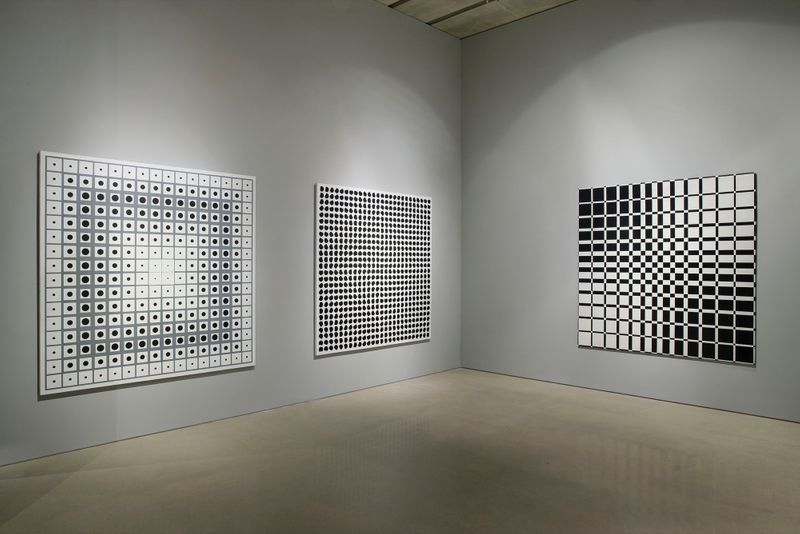 "Julio_Le_Parc_View of the exhibition ""Julio Le Parc : Form into Action"" curated by Estrellita B. Brodksy  at Pérez Art Museum  Miami (USA), 2016_12524_1"