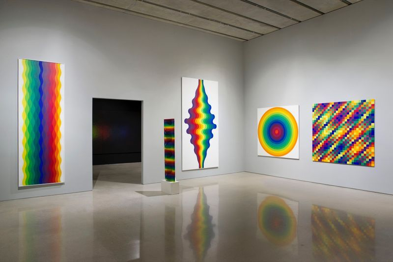 "Julio_Le_Parc_View of the exhibition ""Julio Le Parc : Form into Action"" curated by Estrellita B. Brodksy  at Pérez Art Museum  Miami (USA), 2016_12525_1"