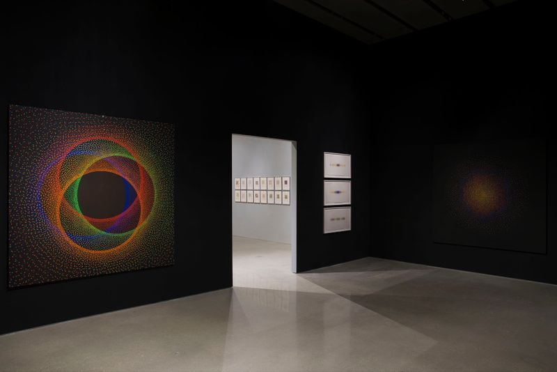 "Julio_Le_Parc_View of the exhibition ""Julio Le Parc : Form into Action"" curated by Estrellita B. Brodksy  at Pérez Art Museum  Miami (USA), 2016_12527_1"