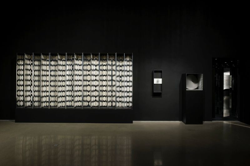 "Julio_Le_Parc_View of the exhibition ""Julio Le Parc : Form into Action"" curated by Estrellita B. Brodksy  at Pérez Art Museum  Miami (USA), 2016_12529_1"