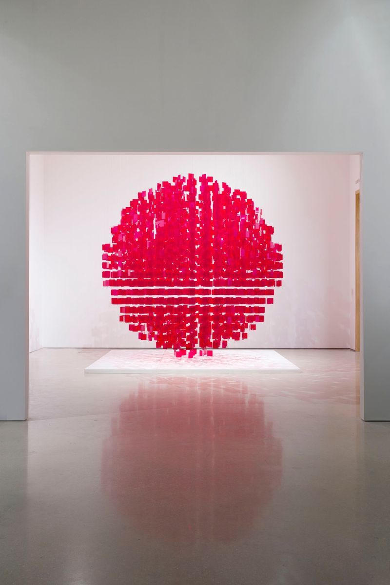 "Julio_Le_Parc_View of the exhibition ""Julio Le Parc : Form into Action"" curated by Estrellita B. Brodksy  at Pérez Art Museum  Miami (USA), 2016_12531_1"